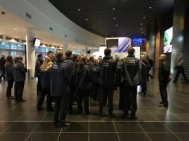 Bei Alba- und Bären-Heimspielen Polizei und Sicherheits-Crew sind sensibilisiert