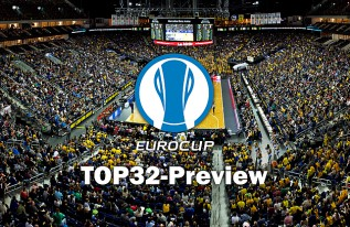 TOP32-Preview: Die Gegner im Kampf ums Eurocup-Achtelfinale