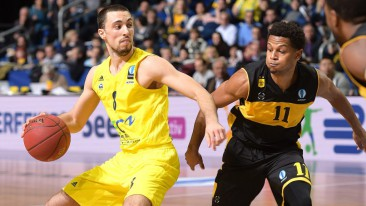 Eurocup: Alba besiegt Aris Thessaloniki mit 82:67