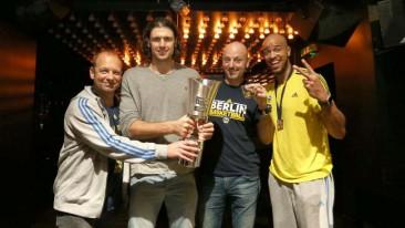 Party, Pott und DJ-Gott! | So geil feiert Alba den Pokal