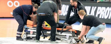 Phoenix Hagen zu Gast bei Alba Berlin Verletzung von D.J. Covington: Der Schock nach dem Drama