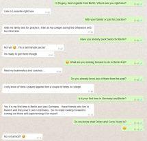 Whatsapp-Interview: Familiengrüße von Peypey