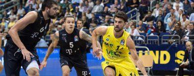 Basketball-Bundesliga Alba Berlin startet mit hart umkämpften Sieg gegen Bonn in die Liga