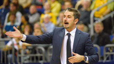 Alba-Trainer Caki sieht sein Team auf einem guten Weg