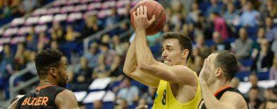 Basketball-Bundesliga Alba Berlin kassiert Heimniederlage gegen Ulm