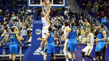 ALBA Berlin gegen Khimki Moskau ohne Chance