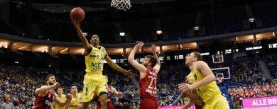 Basketball-Bundesliga Alba Berlin siegt bei Heim-Debüt von Gerald Robinson