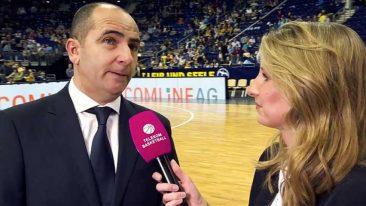 "ALBA-Sportdirektor Ojeda: ""Denis Wucherer leistet gute Arbeit!"""