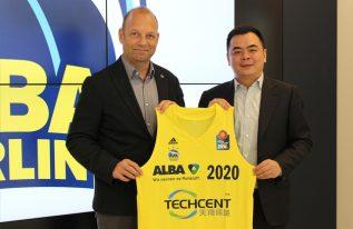 Chinesisches Unternehmen Techcent wird ALBA-Triktosponsor
