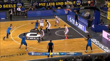 Niels Giffey (Alba Berlin) 2016/17 Highlights