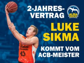 Spanischer Meister Luke Sikma verstärkt ALBA