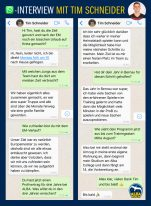 Whatsapp-Interview mit Tim Schneider nach der U20-EM