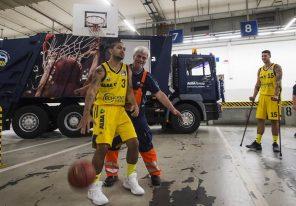 Potsdamer Platz Warum Alba seine Basketballer in eine Recyclinganlage schickt