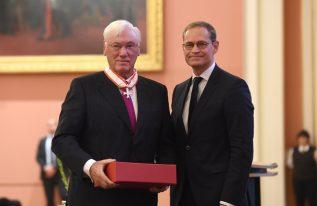 Dieter Hauert mit Verdienstorden des Landes Berlin geehrt