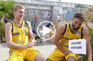 ALBA Emoji Game mit Kapitän Niels Giffey