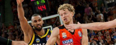 Basketball-Bundesliga Alba Berlin beendet das Jahr mit einem Sieg