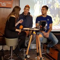 radioeins Dachlounge mit Niels Giffey und Spencer Butterfield