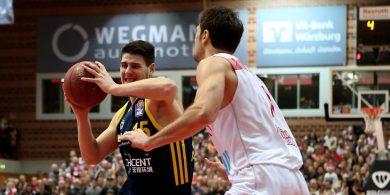 Basketball-Bundesliga Alba Berlin siegt überraschend klar in Würzburg