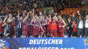 Bayern-Basketballer feiern ersten Pokalerfolg seit 50 Jahren