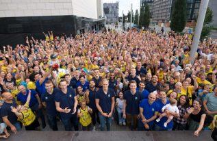 ALBA-Fans verabschieden ihr Team in die Sommerpause