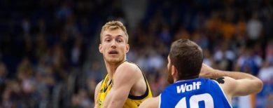 Basketball-Bundesliga Alba Berlin kann mal kurz durchatmen