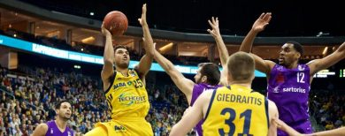 Basketball Alba Berlin hat Spaß an der Improvisation