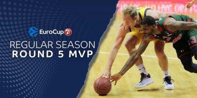 7DAYS EuroCup Round 5 MVP: Luke Sikma, ALBA Berlin