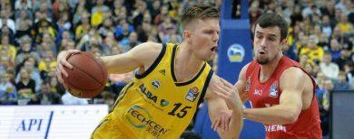 Basketball-Bundesliga Alba Berlin gewinnt gegen Gießen