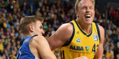 Alba besiegt Frankfurt Lächeln in den Gesichtern