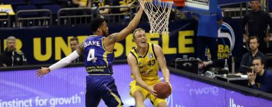 Basketball-Bundesliga Alba Berlin gewinnt 82:74 gegen Braunschweig
