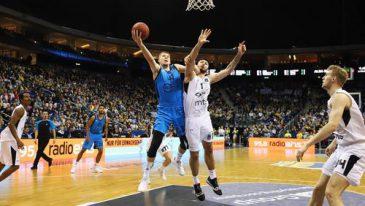 Albatrosse schließen TOP16 mit klarem Sieg gegen Partizan Belgrad ab