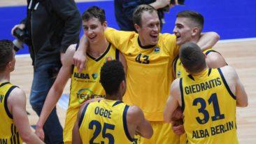 ALBA Berlin erkämpft in Malaga Entscheidungsspiel