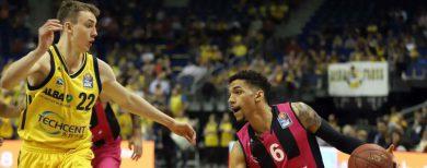 Basketball-Bundesliga Alba Berlin macht Platz drei gegen Bonn fest