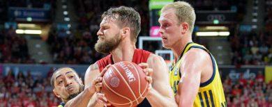 Finale um die Basketball-Meisterschaft Alba Berlin unterliegt Bayern München denkbar knapp