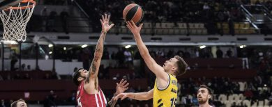 Basketball-Euroleague Alba Berlin gewinnt bei Piräus 93:86