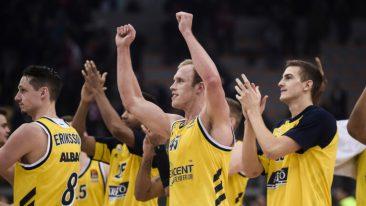94:85! Alba zeigt in Belgrad starke Nerven