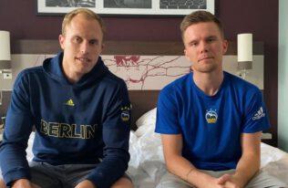 LOTTO Berlin Fantalk aus dem Teamhotel mit Luke Sikma und Martin Hermannsson