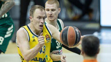 71:87! Alba verliert gegen Zenit St. Petersburg