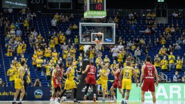 Alba Berlin bezwingt Bayern-Basketballer im ersten Finalspiel