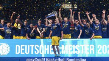 Alba ist Meister! 86:79-Sieg gegen den FC Bayern